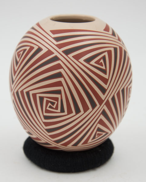 Geometric Jar by E. Lopez