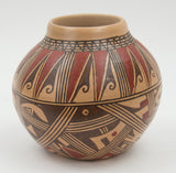 Polychrome Jar by Louden Silas