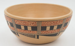 Large Polychrome Bowl by Louden Silas