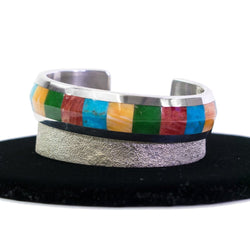 Cuff Inlay Band by Rodney Coriz