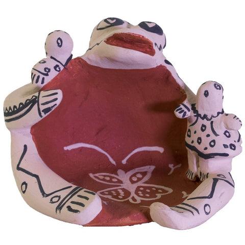 Frogs Pot by Snowflake Flower