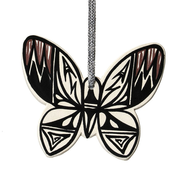 Clay Butterfly Ornament by Yolanda LaMone