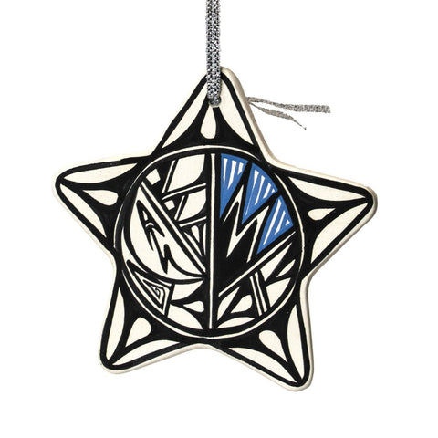 Clay Star Ornament by Yolanda LaMone
