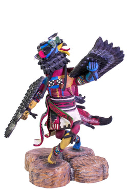 Large Kwaakatsina Eagle Doll by Merrell Cly