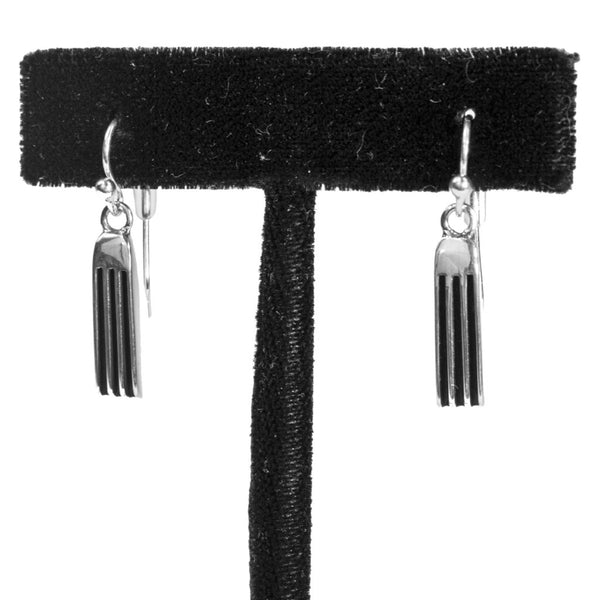 "3/4"" Tracks Earrings by Frances Jones"