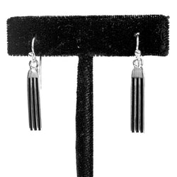 "1"" Tracks Earrings by Frances Jones"