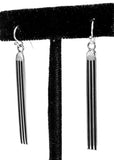 "2"" Tracks Earrings by Frances Jones"