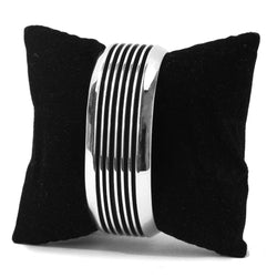 5 Track Cuff Bracelet by Frances Jones