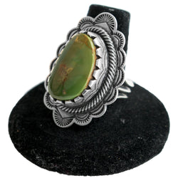 Royston Turquoise Ring by Curtis Pete (Size 9.5)