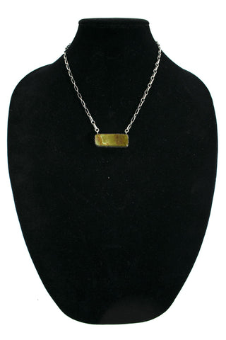 Royston Rectangle Necklace by Curtis Pete
