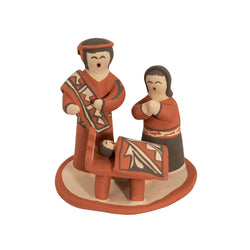 3 Piece Nativity Set by Jeanette Pecos