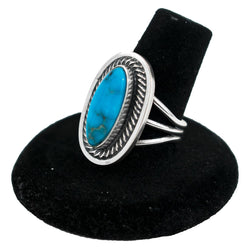 Ithaca Turquoise Ring by Nathan George (Size 8)