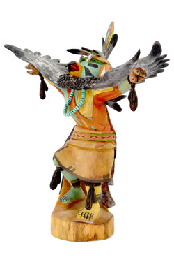 Eagle Katsina Doll by Lester Crooke Jr.