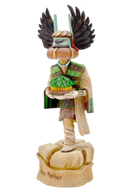 Crow Mother Katsina Doll by Harry Bert