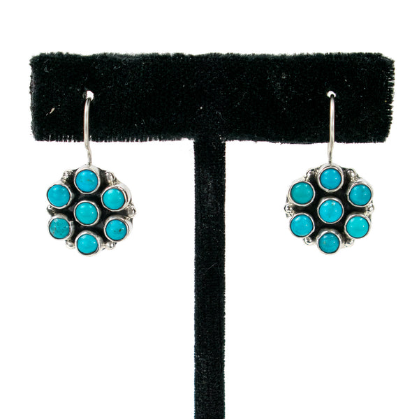 Flower Stones Earrings by Clarissa Hale