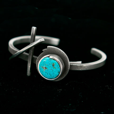 """Crossing Paths"" Bracelet by Jerry Begay"