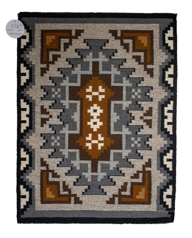 Two Grey Hills Rug by Sally Dickson