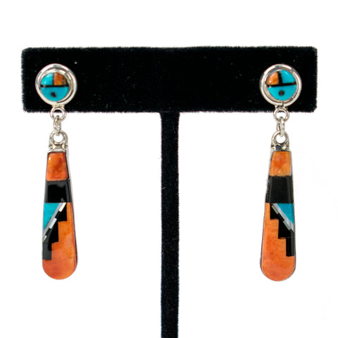 Sunface Dangle Earrings by Patty & Raylan Edaakie