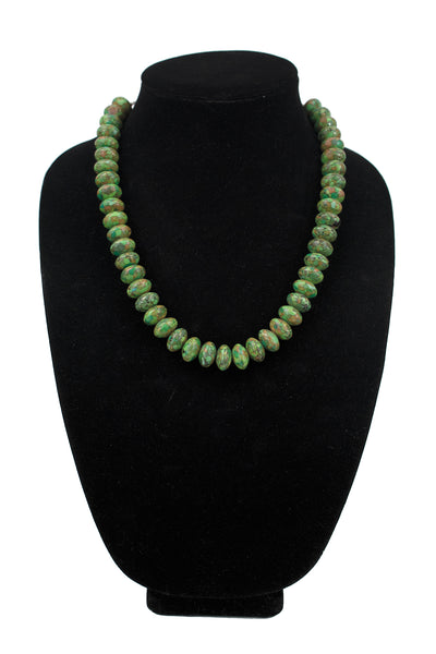 Kingman Turquoise Necklace by Raynard Lab