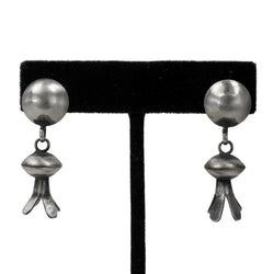 Sterling Silver Oxydized Earrings by Selena Warner