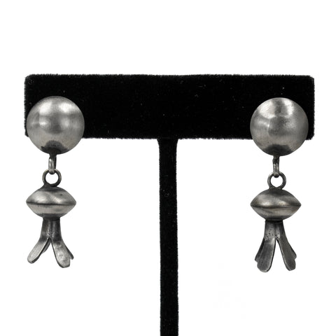Sterling Silver Oxidized Earrings by Selena Warner