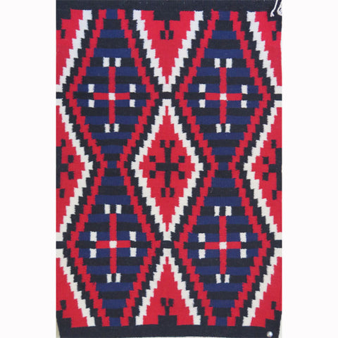 Navajo Chief's Blanket by Julia Pete
