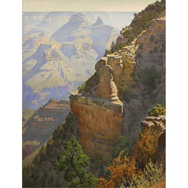 """On the Trail to Grandeur Point"" Giclée"