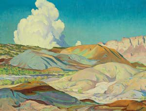 """Valley of the Painted Hills"" Giclée"