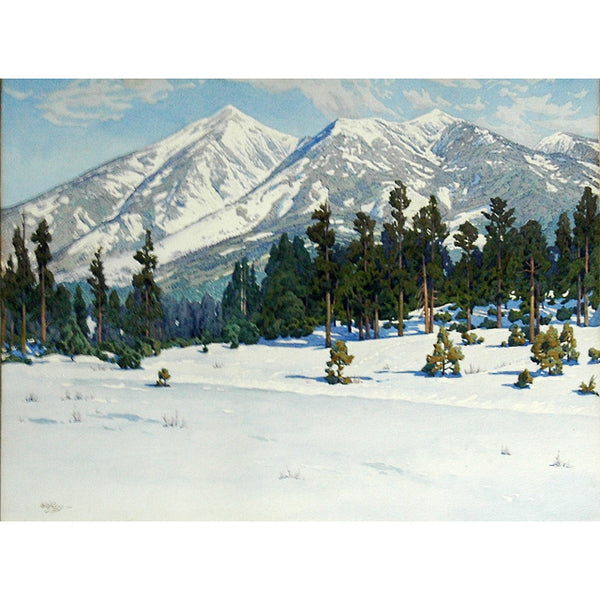 """Winter San Francisco Peaks"" Giclée"