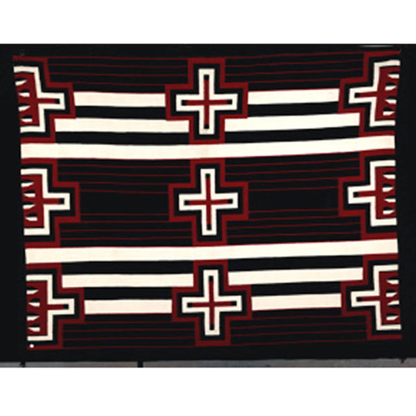 Chief's Blanket Revival Pattern Floor Rug