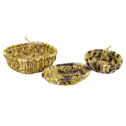 Mini Sifter Baskets by Janice Pavenyouma