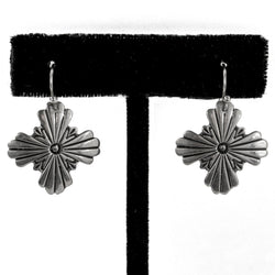 Zia Snowflake Earrings by Shane Casias