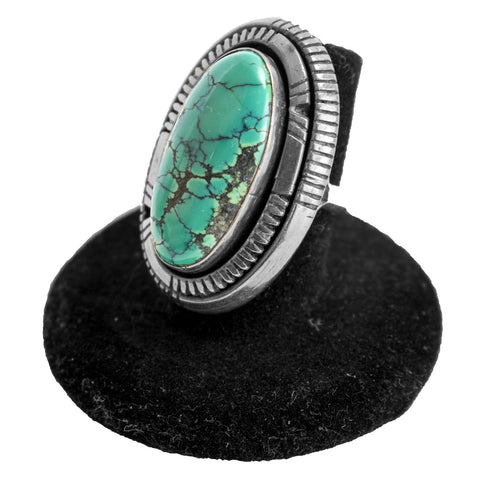 Turquoise Ring by William T. Johnson (Size 6.5)