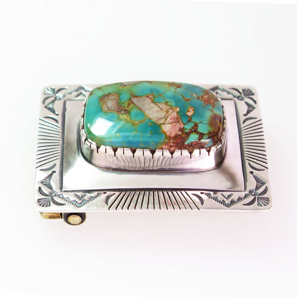 Boulder Turquoise Buckle