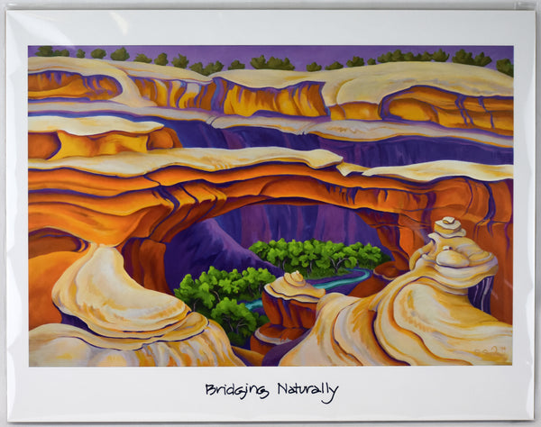 """Bridging Naturally"" Print"