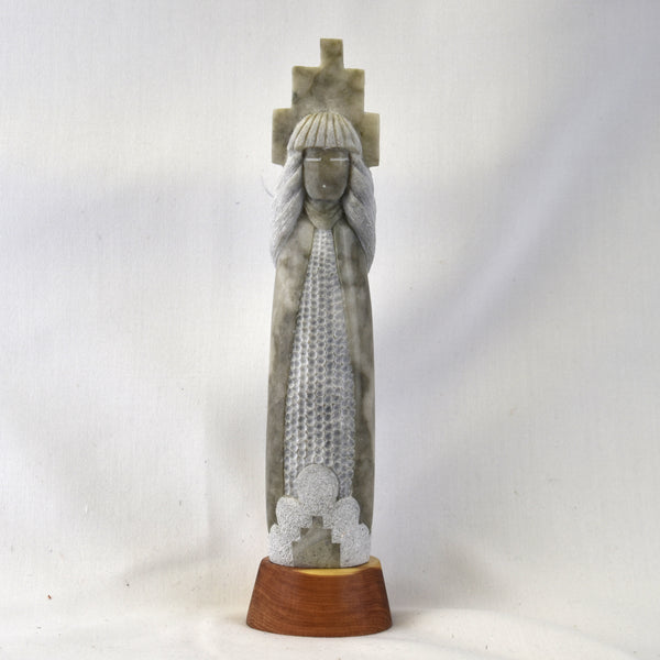 """Corn Maiden"" Sculpture"