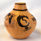 "Sikyatki Design ""My Roots"" Pot"