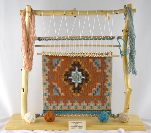 Burntwater Weaving Loom by Vivian Descheny