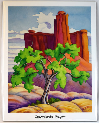 """Canyonlands Prayer"" Print"