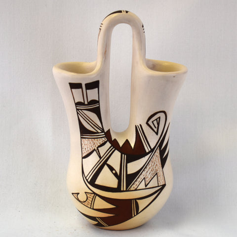 Polychrome Wedding Vase