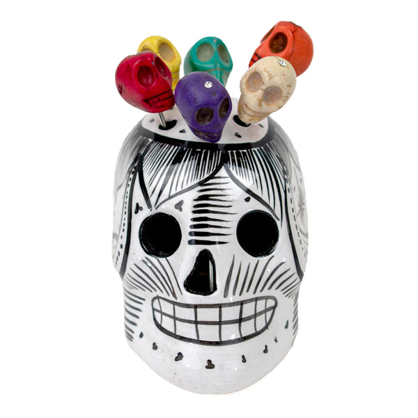 Day of the Dead Appetizer Set by Mary Ellen Ferguson