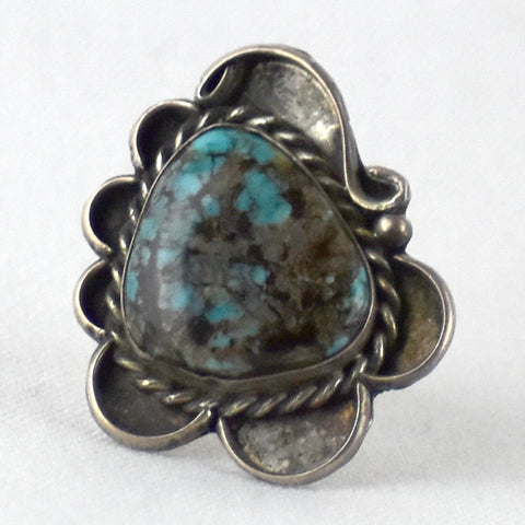 Turquoise Twisted Wire Design Ring