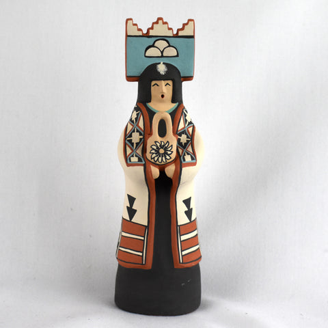 Manta Lady with Vase Pottery