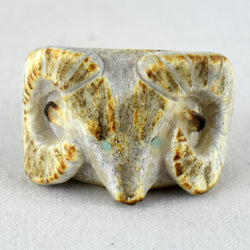 Ram Ring Fetish Carving