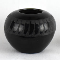 Small Black Feathers Bowl