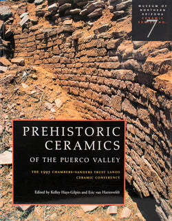 Prehistoric Ceramics of the Puerco Valley
