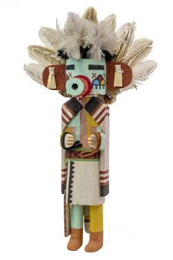 Early Morning Katsina Doll by Bryan Nasetoynewa