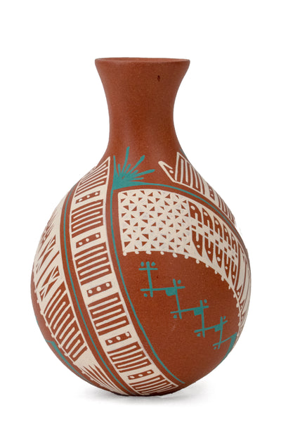 Polychrome Jar by Rosario Veloz