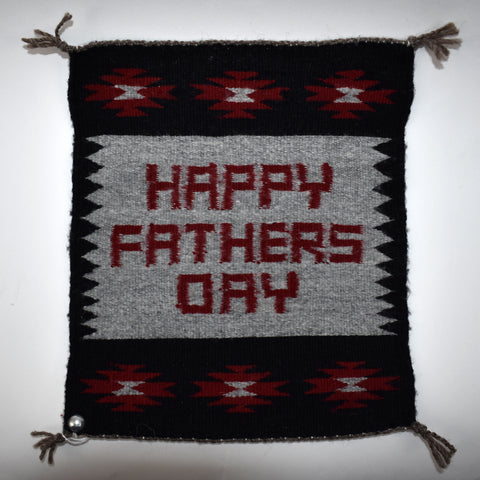 Happy Father's Day Rug by Jenna Benally