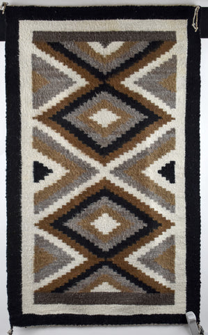 Two Grey Hill Rug by Lucy Begay